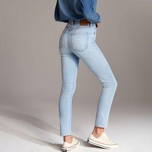 Denim Forum The Yoko Slim High Rise Jeans